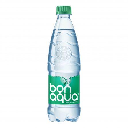Вода питьевая Бонаква среднегазированная 0,5л